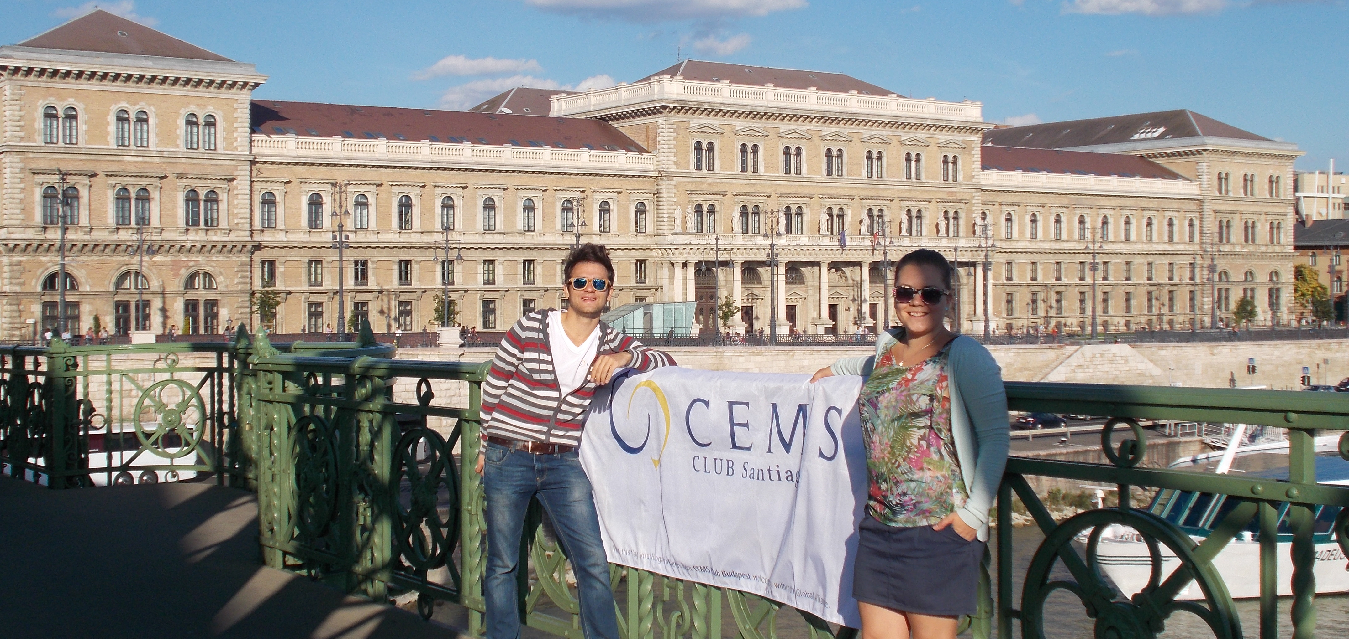 No matter where you are, keep up the CEMSpirit!